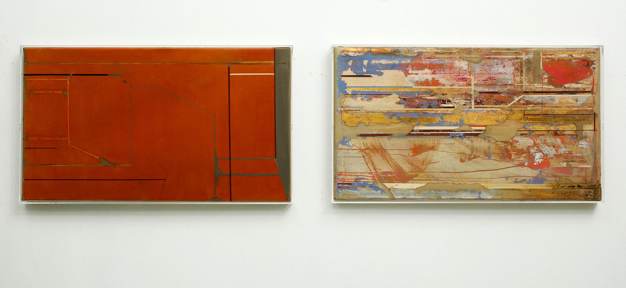 Spor av tid, 2013 - 50 x 70 cm x 2. Tromsø Kunsthall